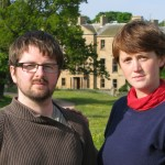 2010, Eilidh MacAskill and Robert Walton at Cambo House