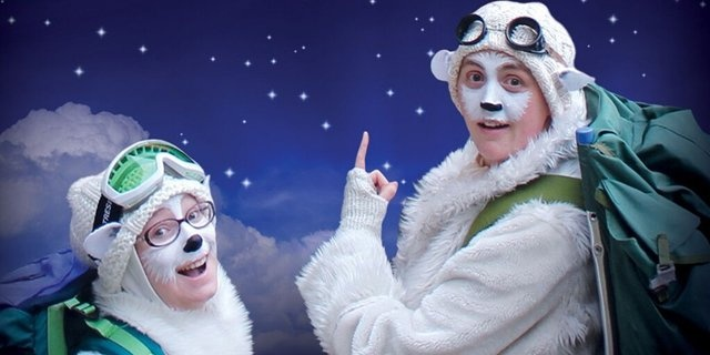 Polar Bears Go Up! NEW SHOW!
